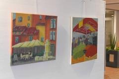 """Ausstellung """"unterwegs zuhause"""" 2017"""