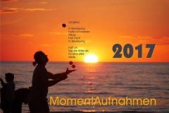 Titelblatt MomentAufnahmen 2017