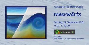 """Ausstellung """"meerwärts"""""""