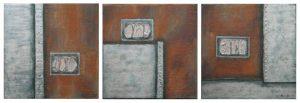 Abstraktes: Metallisch 1 - 3