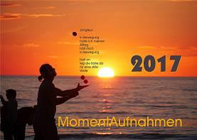 """Kalender 2017: """"MomentAufnahmen"""""""