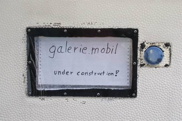 galerie.mobil - die entstehung