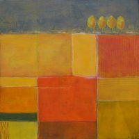 Herbst (1) - Acryl auf Leinwand