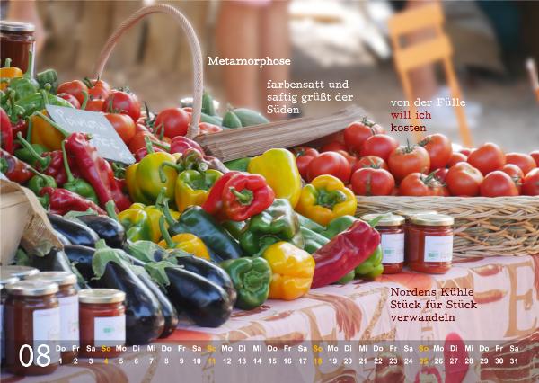 Kalender 2019: August