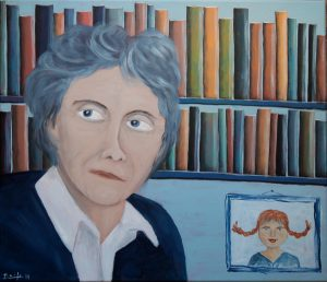 """""""Astrid"""", Acryl auf Leinwand, 60 x 80 cm"""