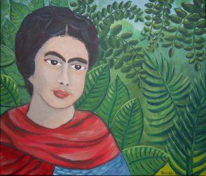 """Frida"", Acryl auf Leinwand, 60 x 80 cm"