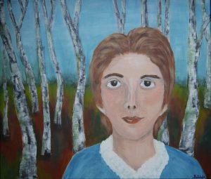 """""""Paula"""", Acryl auf Leinwand, 60 x 80 cm"""