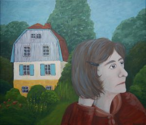 """Gabriele"", Acryl auf Leinwand, 60 x 80 cm"
