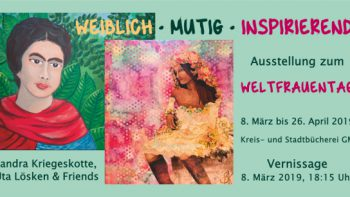 """Permalink auf:Ausstellung: """"weiblich – mutig – inspirierend"""" (Gummersbach 2019)"""