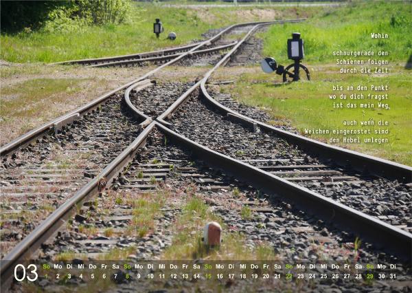 Kalender 2020: März