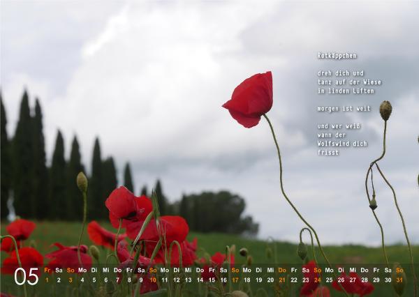 Kalender 2020: Mai