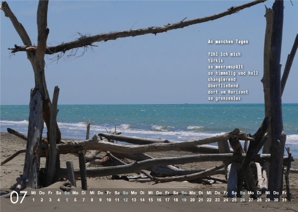 Kalender 2020: Juli