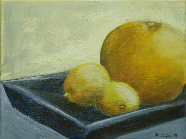 """Bild: """"Stillleben mit Zitronen"""""""