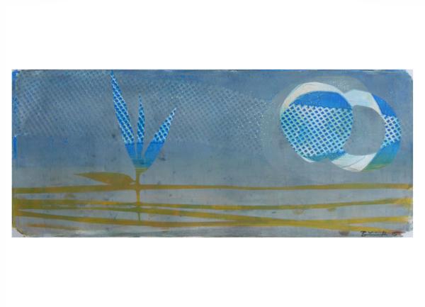 """Gelatinedruck: """"Landschaft (8)"""""""