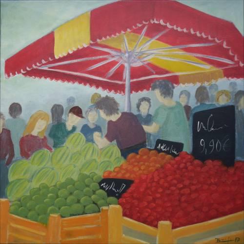 """Bild: """"Markt am Hafen"""""""