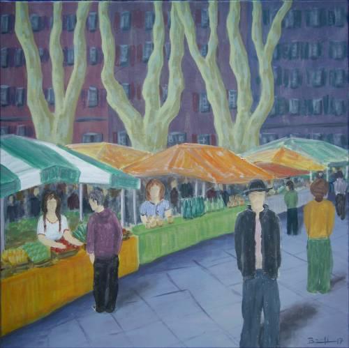 "Bild: ""Markt in Arles"""
