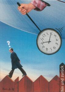 """Collage """"ZeitLäufer"""""""