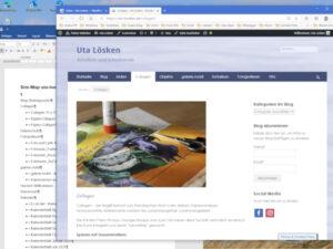 Überarbeitung Homepage