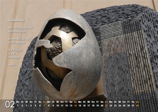 Kalender 2021: Februar