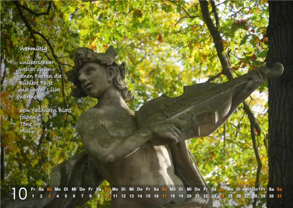 Kalender 2021: Oktober