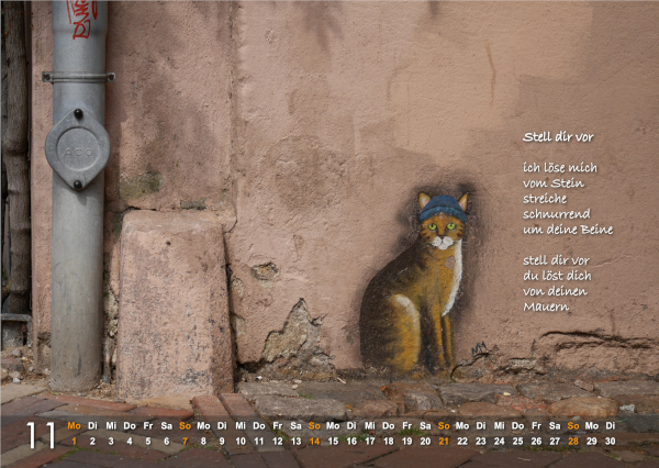 Kalender 2021: November
