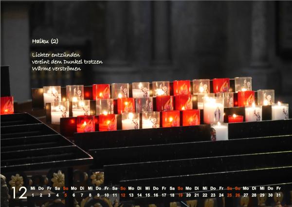 Kalender 2021: Dezember