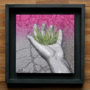 Digital-Collage: Wir haben es in der Hand (3)