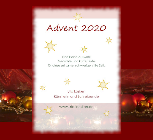 Advent 2020: Gedichte und Geschichten