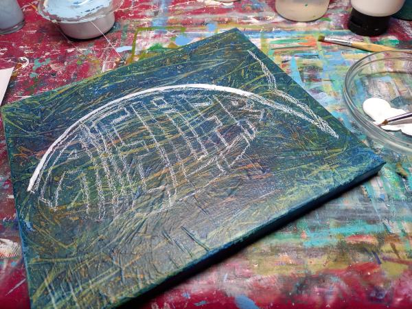 Atelier-Schild neu