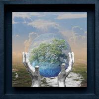 """Digital-Collage: """"Wir haben es in der Hand (6)"""""""