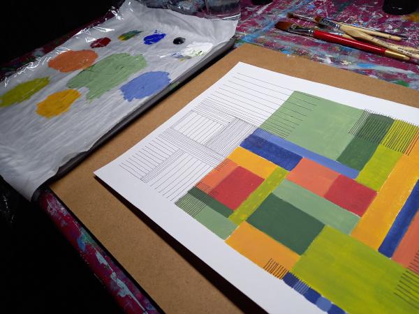 Flächen und Linien
