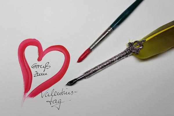 Gruß zum Valentinstag