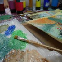 Zeit im Atelier