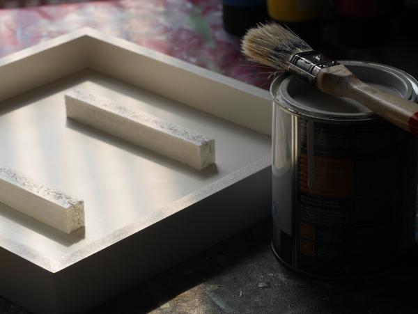 Rahmen lackieren