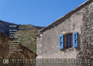 Kalender 2021: August