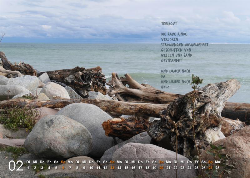 Kalender 2022: Februar