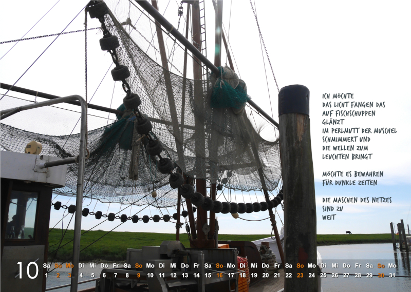 Kalender 2022: Oktober